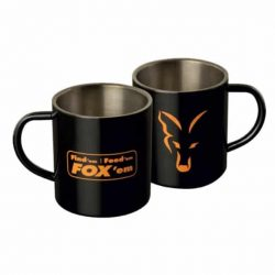 Cana Fox STAINLESS STEEL MUG - 400ML