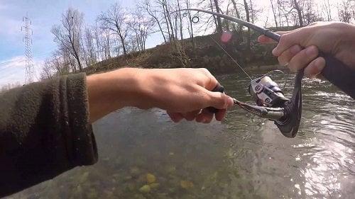 pescar cu lanseta