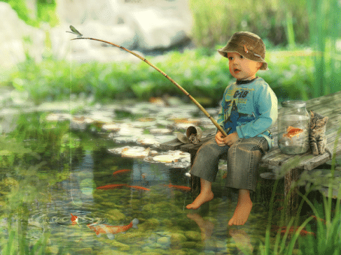 pescar mic