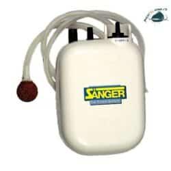 Pompa aer pe baterii – Saenger