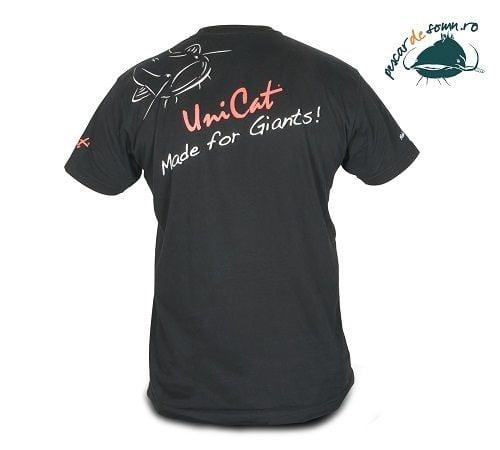 Tricou Uni Cat T-Shirt din bumbac