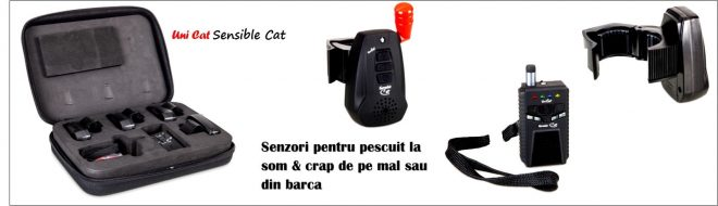 senzori pescuit la somn si crap UniCat Sensible Cat detalii