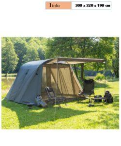 Cort Anaconda Canteeny - un cort de var pentru partidele de pescuit